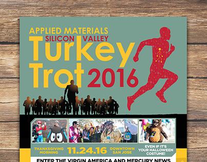 Poster design: 2016 Turkey Trot
