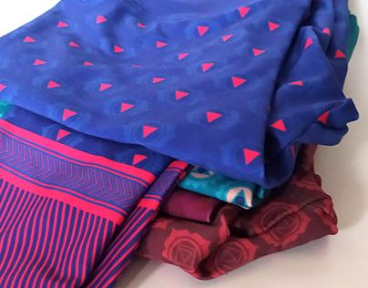 Pattern design for Bright Boho leggins collection
