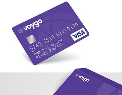 Voygo, tarjeta auto-administrada y recargable
