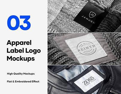 3 Free Apparel Tag & Label Mockups
