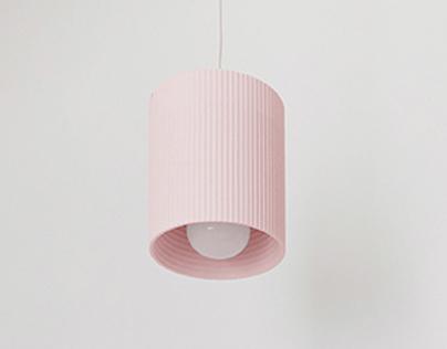 Laminated lampshade