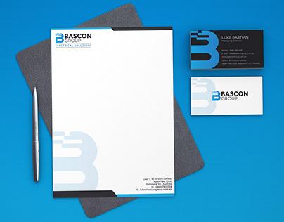 Bascon Logo, Stationery and Car Print