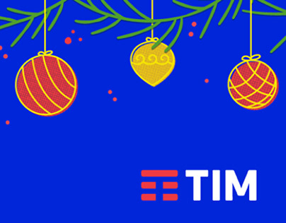 Decorativo de Natal TIM