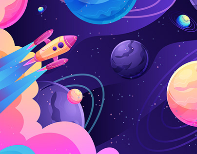 Space Illustrations Collection