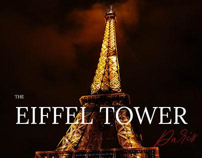The Eiffel Tower - website concept