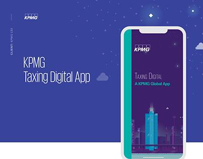 KPMG Taxing Digital App