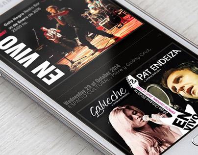 Website for Pat Endeiza Singer