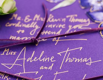 Edwardian Styled Shoot: Wedding Stationery