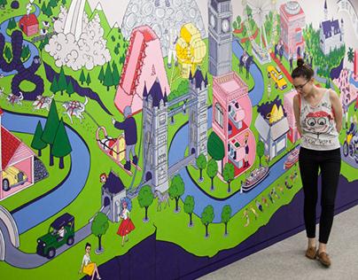 LABELUX-LANDIA - mural