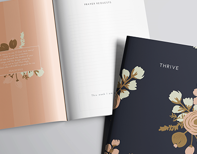 """""""Thrive"""" Women's Ministry Yearly Journal 2016"""