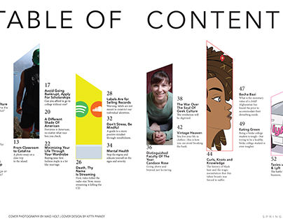 Table of Contents- Impact Magazine