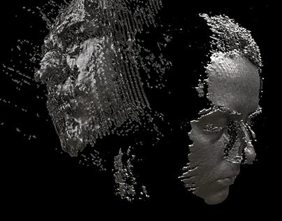 3D model — Pixel Cloud
