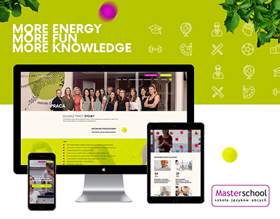 Masterschool - Web design