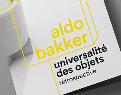 aldo bakker // brochure layout