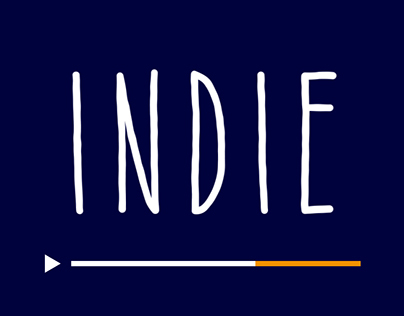 Indie - Animated Typeface
