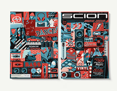 Scion Magazine - Issue #4 (the Music Issue)
