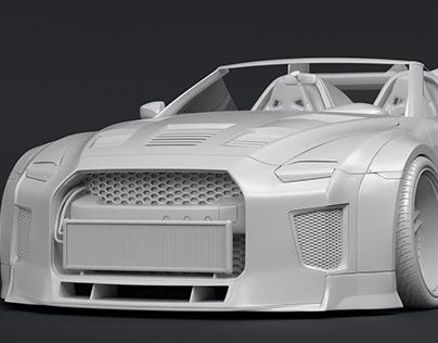 Concept Nissan GTR