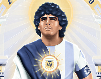 Tribute to Maradona