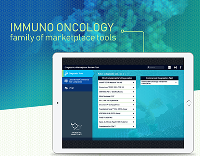 BRANDING & UI DESIGN | Immuno Oncology Tools