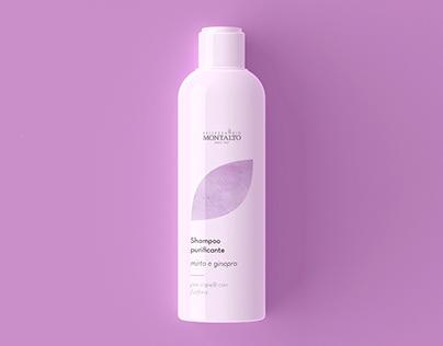 Packaging shampoo Bellezza Bio Montalto