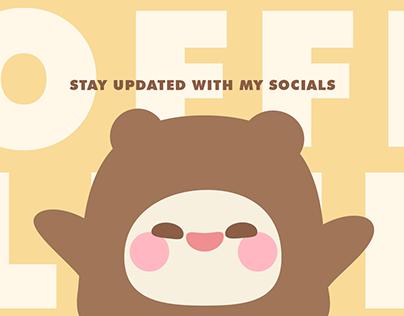 Cute Teddy Onesies Twitch Overlay Stream Package