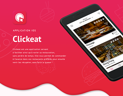 Application iOS • Clickeat