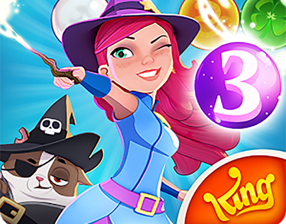 UI/Ux Artist Bubble Witch 3 (2017)