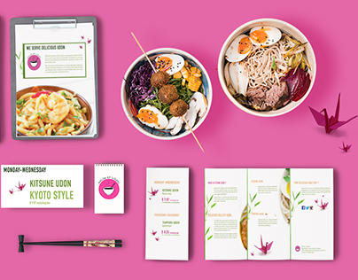 House of Udon- Branding Project