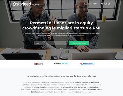 Realizza la tua piattaforma di Crowdfunding - Starteed