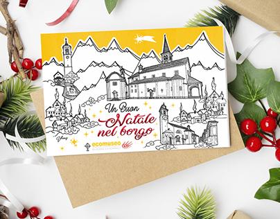 Natale nel borgo CHRISTMAS CARDS