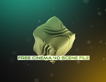 Wrinkle Effect   Fully Rigged Free Cinema 4D Scene File