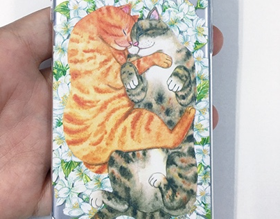 Cuddly Cats Phone Case