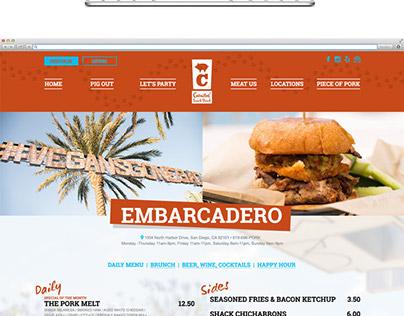 Carnitas' Snack Shack Website