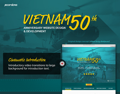 Vietnam Veterans' 50th Anniversary Website