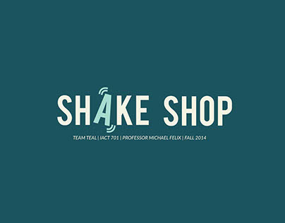 Shake Shop: Scrap Scrounging Made Easy