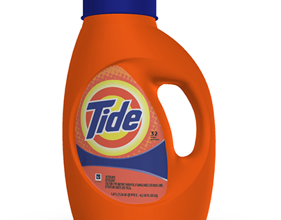 Recreating Tide Bottle