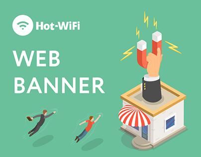 Hot-WiFi – Web Banner