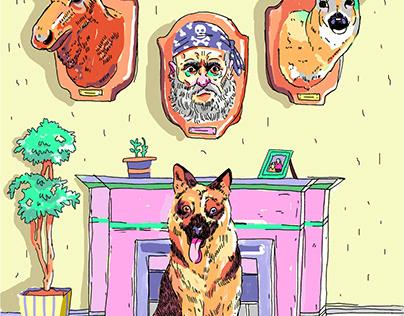 Short Story Illustrations