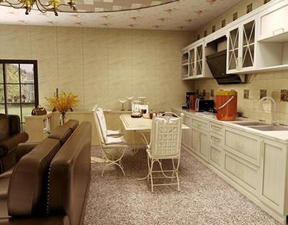 2d floor plan to realistic 3d rendering work