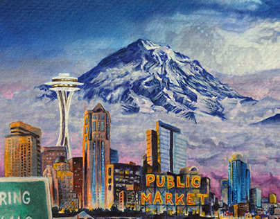 Children's Book - Seattle