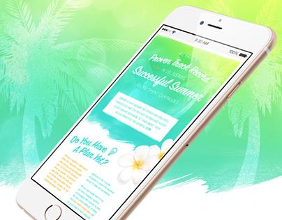 Summer Promotional Email | E-shot 2015
