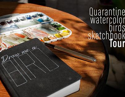 Watercolor Sketchbook tour