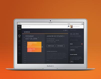 RIT Student Information System Website Redesign