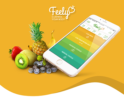 """Feely"" - personal health diary app"