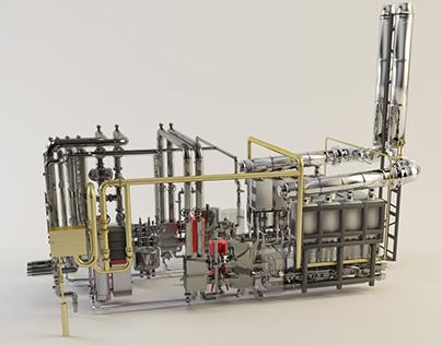 Module Boiler Room System