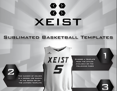 Basketball Design Templates Booklet