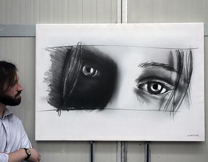 Artwork on white background