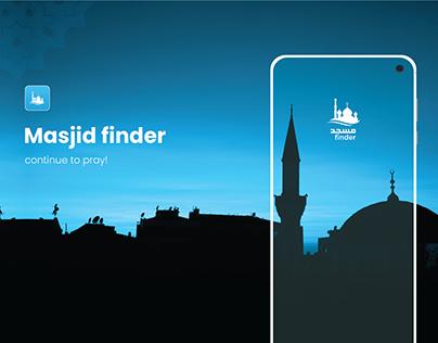 Masjid Finder- Mobile App UI
