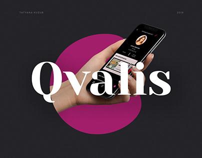 Landing Page Qvalis
