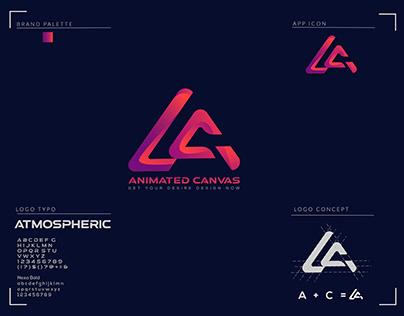 A C Modern Letter Logo
